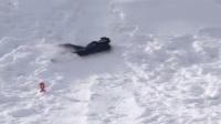"""邓超晒孙俪""""花样""""滑雪视频中国花样滑雪第一人"""