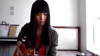 美女电吉他弹奏江南Style