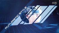 FCPX插件 LIGHT GRID 未来 科技主题 效果插件 FINALCUTPROX