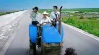 奔驰宝马拖拉机飙车