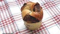 柏翠面包机 榛果巧克力面包卷