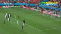 2014巴西世界杯火爆头条 西班牙1-5荷兰全场集锦 罗本范佩西各进2球 140614