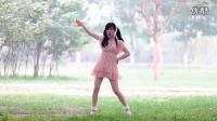 热舞小苹果 可爱美女粉色裙子版