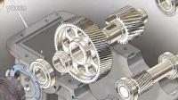 SolidWorks-二级减速器组装