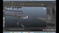 影视模型制作教程-MAYA多边形制作枪