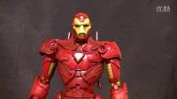 漫威 Marvel Legends Icons toybiz  IRON MAN 12寸 钢铁侠 测评