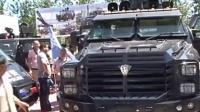 新型剑齿虎警用装甲车外形威猛 价值160万 150527