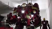 中国钢铁侠粉丝打造11英尺反浩克装甲!
