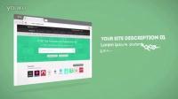 A0842扁平化风格企业电子商务网站博客产品推广宣传动画AE模板