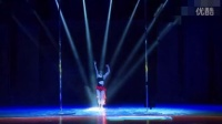 妖艳美女爆红性感红纱舞蹈第四届钢管舞锦标赛半决赛  深圳平湖尚景国际钢管舞