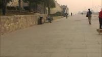 骑上自行车游咸阳湖