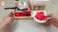 【方块熊】制作意大利面条和彩色冰激凌