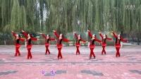云裳广场舞 火火的情歌 正背面演示 动作口令分解 原创舞蹈教学视频