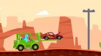 小恐龙救援汽车 赛车总动员闪电麦昆 儿童益智游戏