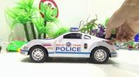 飞燕传媒玩具视频 警车变魔术玩具总动员玩具车视频 儿童玩具视频  好玩玩具故事475