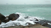蜈支洲岛海浪