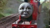 托马斯和他的朋友们第十第15季牙厉 托马斯心情不好差点脱轨 15D