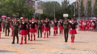 徐冲:回龙湾健身队水兵舞表演_2017年美溪区全民健身广场舞比赛