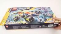 【速拼】乐高LEGO 70355未来骑士团 阿隆的岩石征服者
