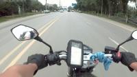 奔达火舞250骑行视频