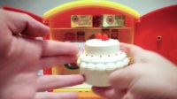 【Happy face】【Children】面包超人 高仿面包超人冰箱 洗衣机玩
