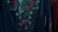 已清890期中高端品牌荣澜赵雅芝代言贵妇装秋冬款中长袖刺绣钉珠打底外穿大版衫连衣裙特价400元7件专柜一件的价格不到微信15165126829