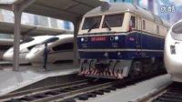 我的火车模型 —— K8468次列车进出马鞍山站 。