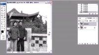 PS人物数码照片处理技法视频教程    修复老照片划痕