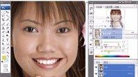 "PS CS4 使用""画笔""工具柔化皮肤"