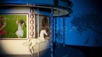 旋转木马梦幻仙境儿童AE模板-Carousel Photo & Video Album