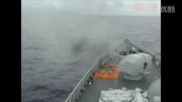 实拍中国海军舰艇编队在西太平洋进行演习