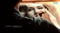 AE模板-唯美艺术实拍钢笔手绘素描婚礼照片图片展示片头模板12872127