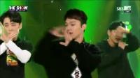 【风车·韩语】EXO-CBX初舞台《Hey Mama!》韩秀榜现场版