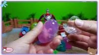 大耳朵图图拆水晶玩具蛋,小羊肖恩 公主恋人 绿豆蛙 龙珠超