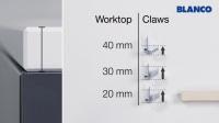 铂浪高BLANCO石英石水槽安装教程