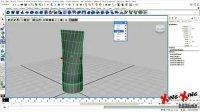 免费maya视频教程任务4:学习图层、组、大纲编辑器及变形器(2)