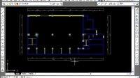 CAD绘制中式餐厅顶面布置图