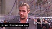 Chris Hemsworth -《复仇者联盟》首映红地毯采访