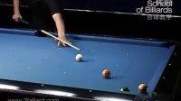"""台球教学视频9-""""可怕的""""袋口,最好玩的手机台球游戏-百度搜索《台球帝国》"""