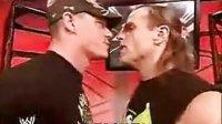 WWE 塞纳和HBK的搞笑视频(中文字幕)