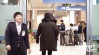121223 BIGBANG 胜利 机场被门夹蠢哭人类