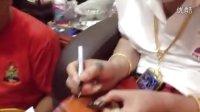 视频: 阿赞明 正在开光训练班纯金二哥丰佛牌,助赌运财运