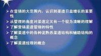 上海交大 销售渠道管理 44讲 全套见空间专辑