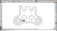 CAD教程 CAD2011实战视频教程★★三、实例24