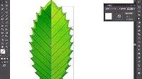 AI视频教程_AI教程_AI实例教程_海报设计篇_矢量树叶