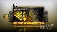 VideoHive 795 照片金属质感AE模板