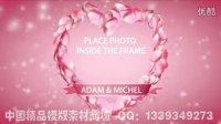 AE片头 AE模板(编号:AE-G00002)爱心花瓣-梦幻婚礼开场AE模板