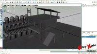 MAYA动画教程模型课程:制作酒馆主体房屋(3)