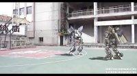 街头篮球-变形金刚 三维实拍实拍特效