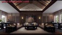 平谷中式古典别墅/中式家具,首选唐人室内设计高贵风范!